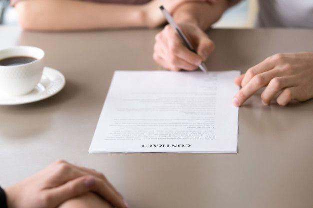 客先常駐案件の契約